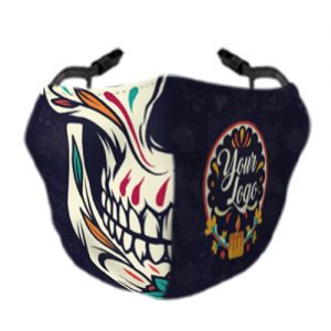 Day Of The Dead Face Mask 1