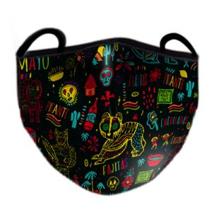 Day Of The Dead Face Mask 3