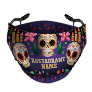 Day Of The Dead Face Mask 5