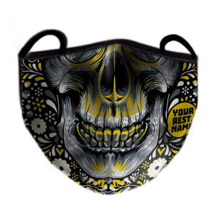 Day Of The Dead Face Mask 6